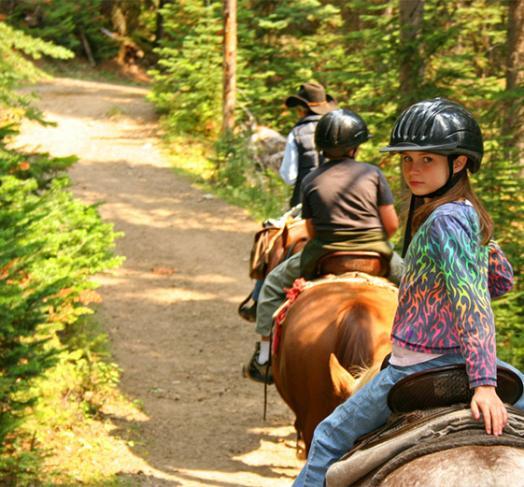 Randonnée à cheval Saint-Pierre-Langers